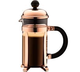 Cafeti�re � piston Bodum Chambord cuivre 35 cl