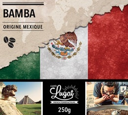 Caf� en grains : Mexique - Bamba - 250g - Caf�s Lugat