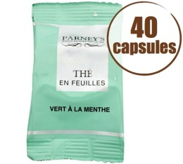 Th� Vert Capsules FAP x40 Menthe - Caf�s RICHARD