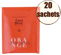 Display chocolat en poudre instantan� orange x20 - Caf�-Tasse