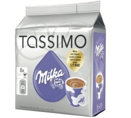 dosette tassimo milka saveur chocolat chaud 8 t discs. Black Bedroom Furniture Sets. Home Design Ideas