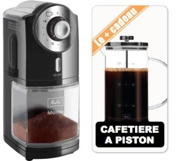 Moulin caf cunill tranquilo classic abs noir - Utilisation cafetiere a piston ...