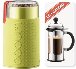 Moulin lames bodum cafeti re piston chambord 3 tasses offerte bodum - Cafetiere grain a moudre ...