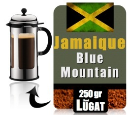 caf moulu pour cafeti re piston blue mountain jama que 250g lionel lugat. Black Bedroom Furniture Sets. Home Design Ideas