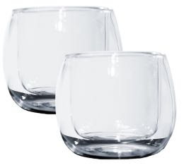2 verres double paroi Ametista 11cl Thermic Glass - Accademia