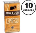 Capsules Cremoso Mokador x10 pour Nespresso