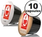 Capsules Dolce Gusto® compatibles Cappuccino x10
