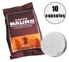 10 Capsules de café pour Cafetière Moka 3 tasses - Caffe Mauro