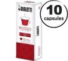 Capsules Intenso (Rosso) Bialetti x10 pour Nespresso