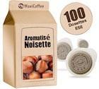 Dosette caf� aromatis� noisette x 100 dosettes ESE