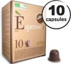 Capsule Espresso Bio Caff� Vergnano x10 pour Nespresso