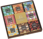 Coffret Collection 18 carrés de chocolat gamme Pays producteurs de café - Monbana
