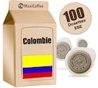Dosette caf�  Colombie x 100 dosettes ESE