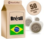 Dosette    caf�  Br�sil x 50 dosettes ESE