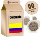 Dosette      caf�  Colombie x 50 dosettes ESE