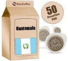Dosette   caf� Guatemala x 50 dosettes ESE