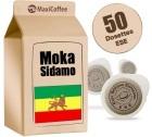 Dosette     caf�       Moka Sidamo x 50 dosettes ESE