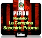 Caf� en grains Plantation La Campina - Sanchirio Paloma - 250 Gr - P�rou
