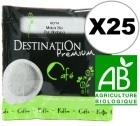 Dosette  caf� bio Moka Ethiopie x 25 dosettes ESE