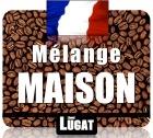 Caf� en grains    M�lange Maison (Noir)  - 250 g - Lionel Lugat