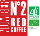 Caf� en grains Number N�2 Red Coffee - 100% Arabica Bio - 1Kg