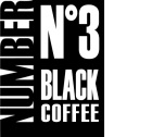 Caf� en grains Number N�3 Black Coffee 100% Arabica - 1kg