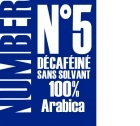 Caf� en grains D�caf�in� Number 5 - 1kg