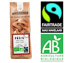 Caf� en grains Les Arabicas d'Exception Bio Equitable x 250 g