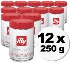 Caf� en grains Illy espresso - 12x250 gr