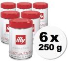Caf� en grains Illy espresso - 6x250 gr