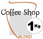 Caf� en grains Coffee Shop Blend - 1 Kg
