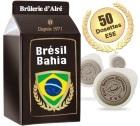 Dosettes ESE Br�sil Bahia x 50 - Br�lerie d'Alr�