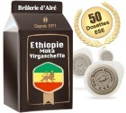Dosettes ESE Moka Yirgascheffe x 50 - Br�lerie d'Alr�