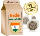 Dosette Caf� INDE MALABAR x 25 dosettes ESE