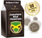 Dosettes ESE Jama�que Blue Mountain x 50 - Br�lerie  d'Alr�