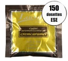 Dosette caf� Lucaff� aromatis� caramel x 150 dosettes ESE