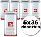 Dosettes caf� Illy espresso normal 5x36 dosettes ESE
