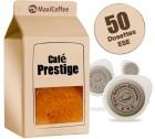Dosette Caf� Prestige 100% Arabica x 50 dosettes ESE
