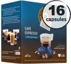 Capsules compatibles Dolce Gusto® Oquendo Mepiachi Espresso Decaféiné x 16