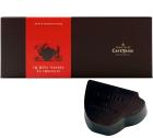 Boîte de 18 mini-tasses au chocolat noir fourrées avec une ganache noir  - Café-Tasse