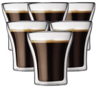 6 verres BODUM ASSAM 20cl