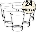 24 verres espresso Caffeino - 8.5 cl