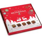 Assortiment de 25 chocolats fins fourr�s au pralin� - Monbana