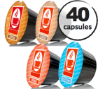 Pack découverte - 40 capsules Dolce Gusto® compatibles