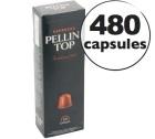 Pack 480 capsules Pellini Top pour Nespresso