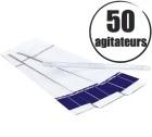 50 agitateurs (mélangeurs) emballés individuellement - Lavazza