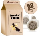 Dosette caf� aromatis�   vanille x 50 dosettes ESE