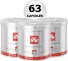 63 x Capsule illy Iperespresso rouge