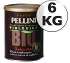 Café moulu Pellini Bio 100 % Arabica 6 kg