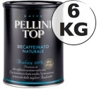 Café moulu Pellini décaféiné 100% Arabica 6kg
